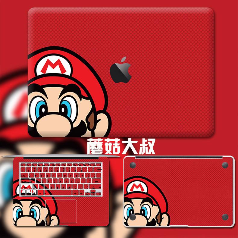 Dán Macbook  MacMacBookair13pro1511133 2018133airA1932 苹果外壳贴 - ảnh 45