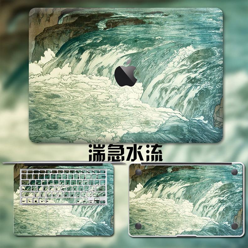 Dán Macbook  MacMacBookair13pro1511133 2018133airA1932 苹果外壳贴 - ảnh 67