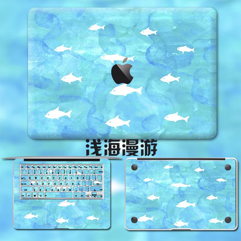 Dán Macbook  MacMacBookair13pro1511133 2018133airA1932 苹果外壳贴 - ảnh 55