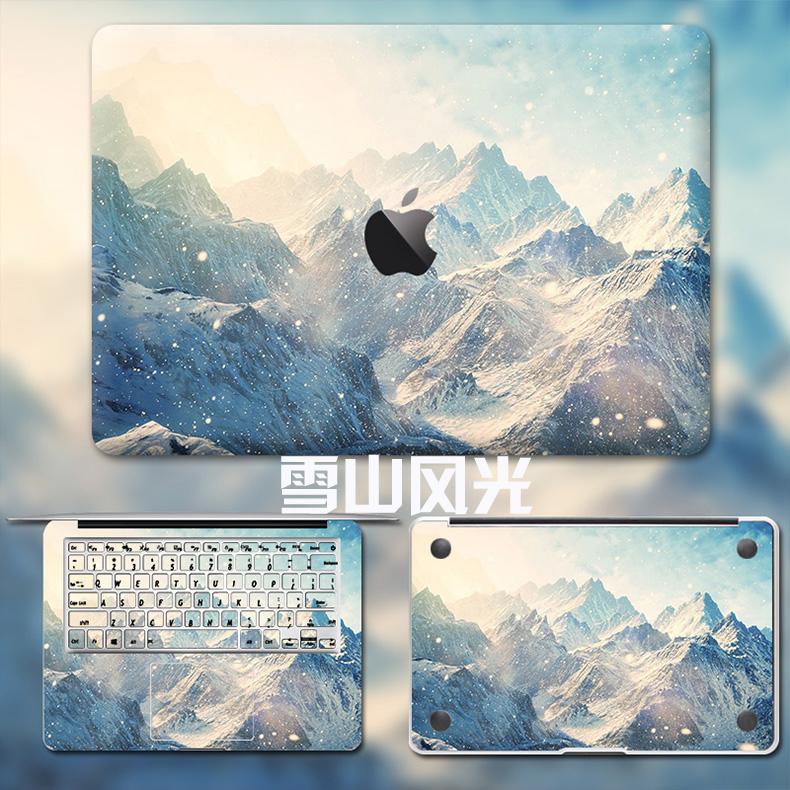 Dán Macbook  MacMacBookair13pro1511133 2018133airA1932 苹果外壳贴 - ảnh 77