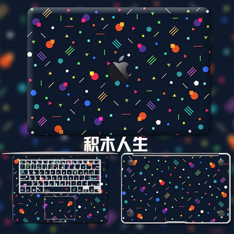 Dán Macbook  MacMacBookair13pro1511133 2018133airA1932 苹果外壳贴 - ảnh 37