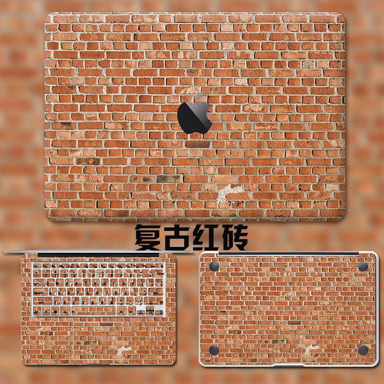 Dán Macbook  MacMacBookair13pro1511133 2018133airA1932 苹果外壳贴 - ảnh 29