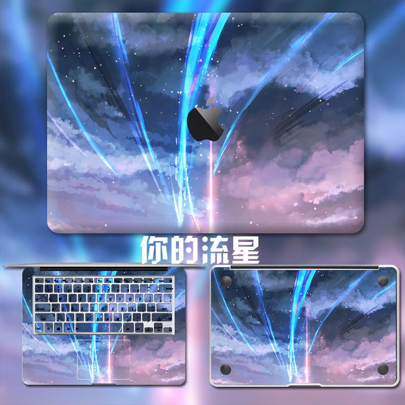 Dán Macbook  MacMacBookair13pro1511133 2018133airA1932 苹果外壳贴 - ảnh 54