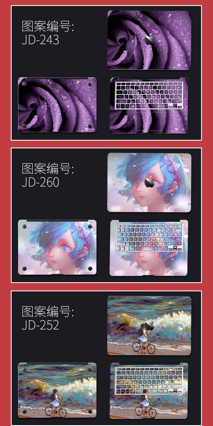 Dán Macbook  MacBook air133mac Pro15 AL 050 ACD  - ảnh 6