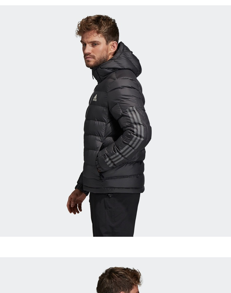 雙11預售: adidas 阿迪達斯 3S SDP BOS 男子運動棉服 399元(吊牌價899元) 買手黨-買手聚集的地方