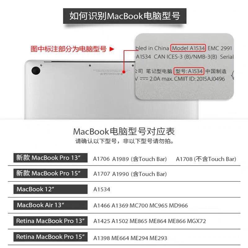 Dán Macbook  12 MacBook A1534 ACD ACD A1932 - ảnh 21
