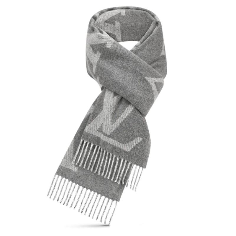 高仿原单Louis Vuitton 路易威登lv围巾男女同款长款羊毛围巾三色可选M73455 M73454(图1)