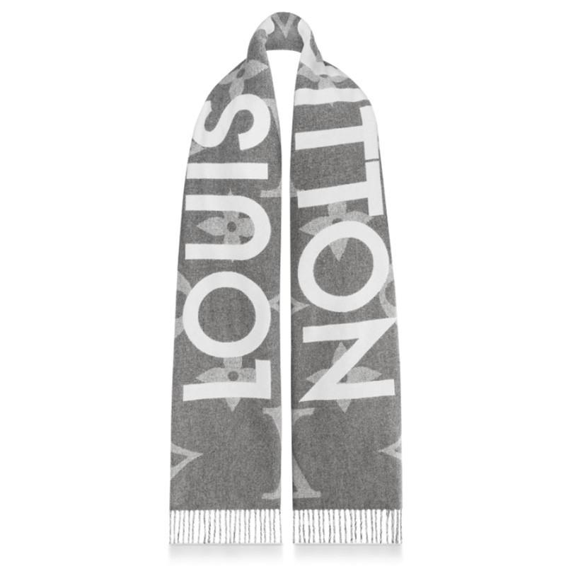 高仿原单Louis Vuitton 路易威登lv围巾男女同款长款羊毛围巾三色可选M73455 M73454(图4)