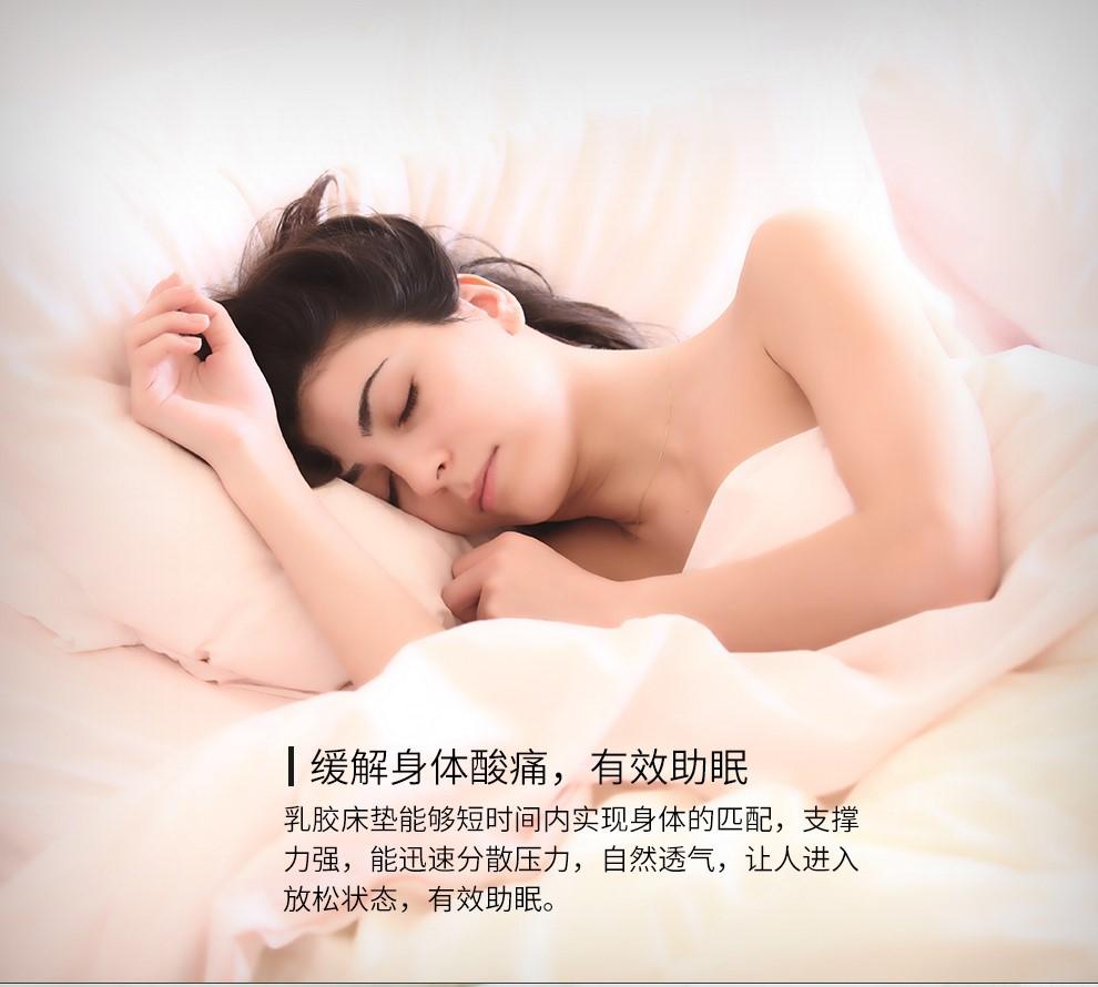TAILEX泰国天然乳胶床垫原装进口天然橡胶床垫可定制做折叠榻榻米单双人学生宿舍乳胶床垫床褥子15CM-泰国制造-95D密度180*200cm