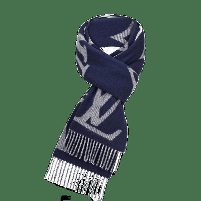 高仿原单Louis Vuitton 路易威登lv围巾男女同款长款羊毛围巾三色可选M73455 M73454(图5)