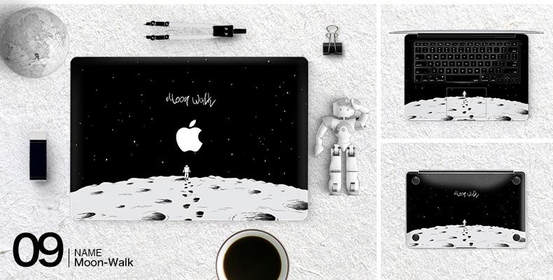 Dán Macbook  SkinAT MacBook Moon walk Air 13 - ảnh 11