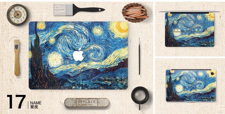 Dán Macbook  SkinAT MacBook Moon walk Air 13 - ảnh 19