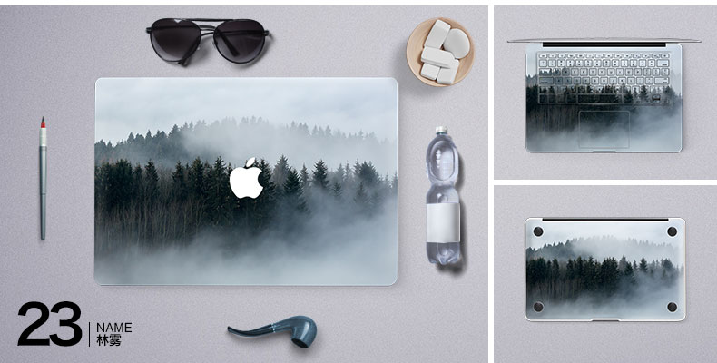 Dán Macbook  SkinAT MacBook Moon walk Air 13 - ảnh 25