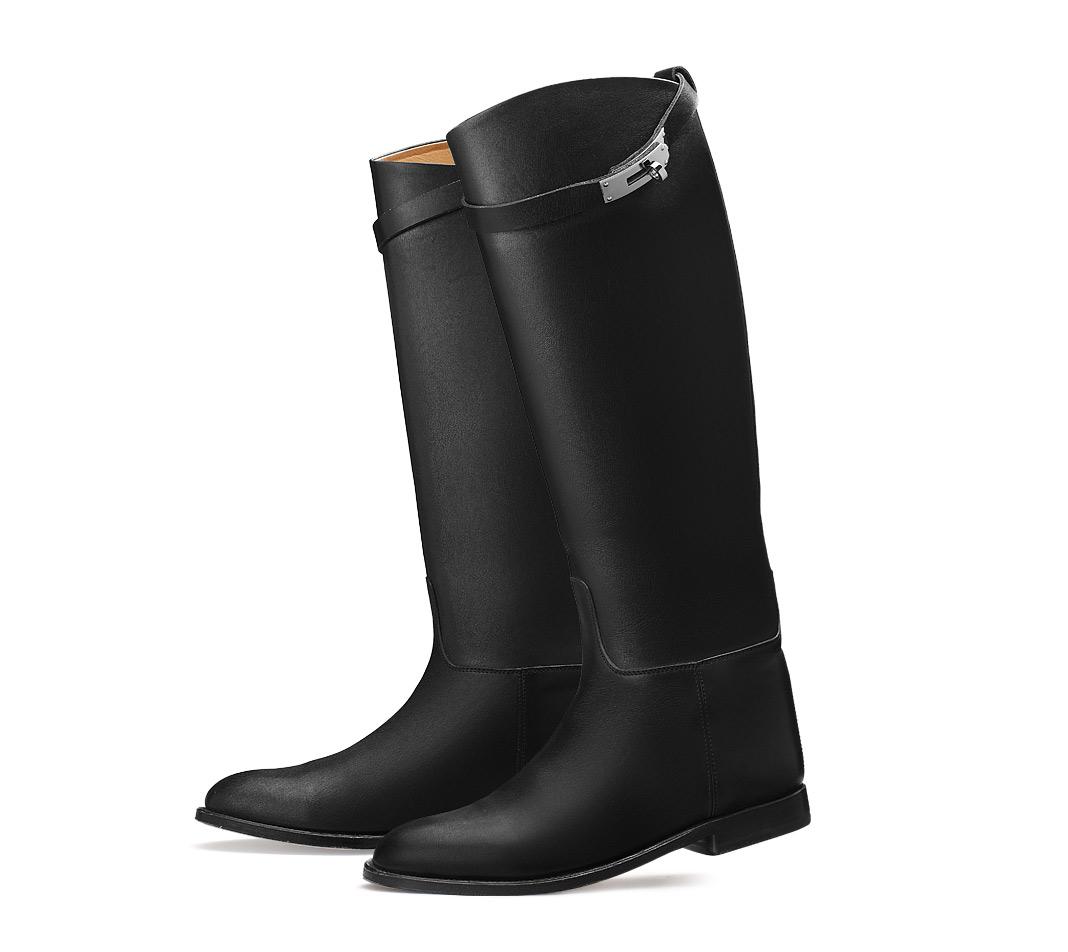 女人??h?9n??oezg>K????_hermes ladies\' boot in light chestnut swift  calfskin, stacked