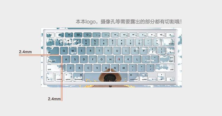 Dán Macbook  MacBook AirPro1315A193219891990 CH 53 ABCD 按型号发货 - ảnh 15