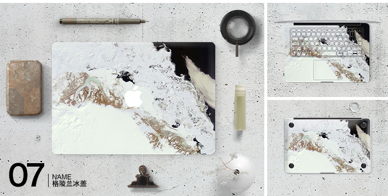 Dán Macbook  SkinAT MacBook Moon walk Air 13 - ảnh 9