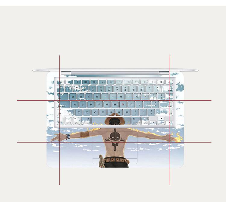 Dán Macbook  MacBook AirPro1315A193219891990 CH 53 ABCD 按型号发货 - ảnh 4
