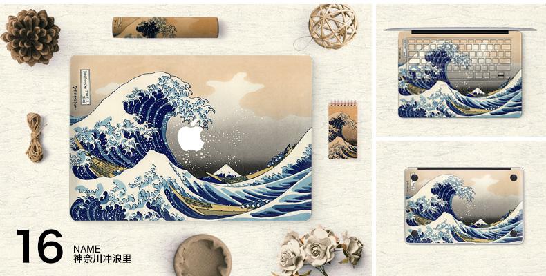 Dán Macbook  SkinAT MacBook Moon walk Air 13 - ảnh 18