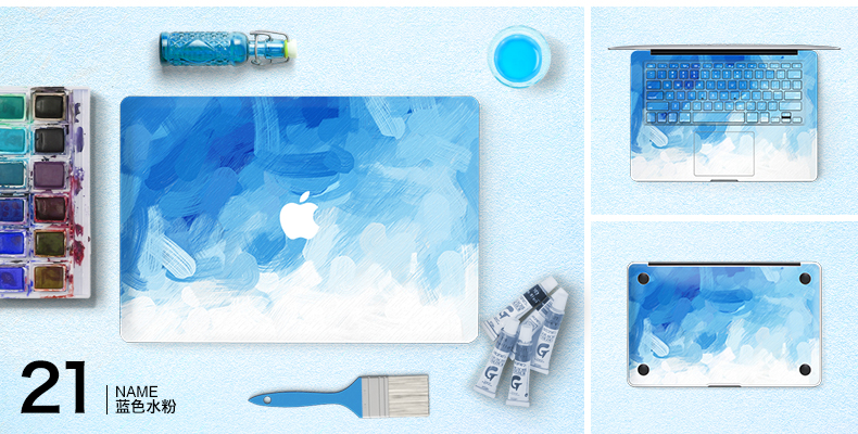 Dán Macbook  SkinAT MacBook Moon walk Air 13 - ảnh 23