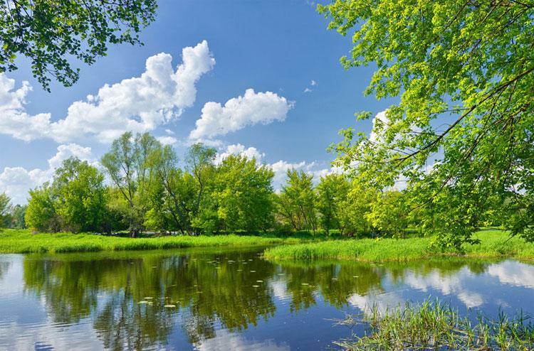 商品選購 洛凌  商品名稱:風景壁紙山水田園大自然現代簡約3d立體壁畫