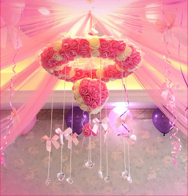 Cognac Wedding room layout Lahua decoration Wedding supplies Flower ...