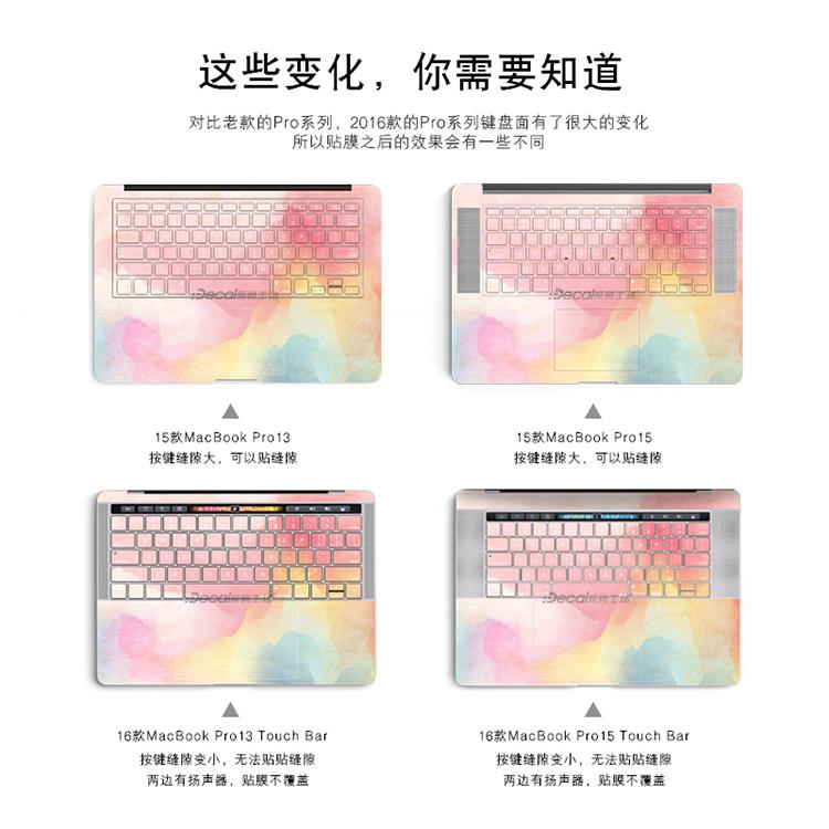 Dán Macbook  macairmacbookpro touchbar13 A1706 A1989 - ảnh 51
