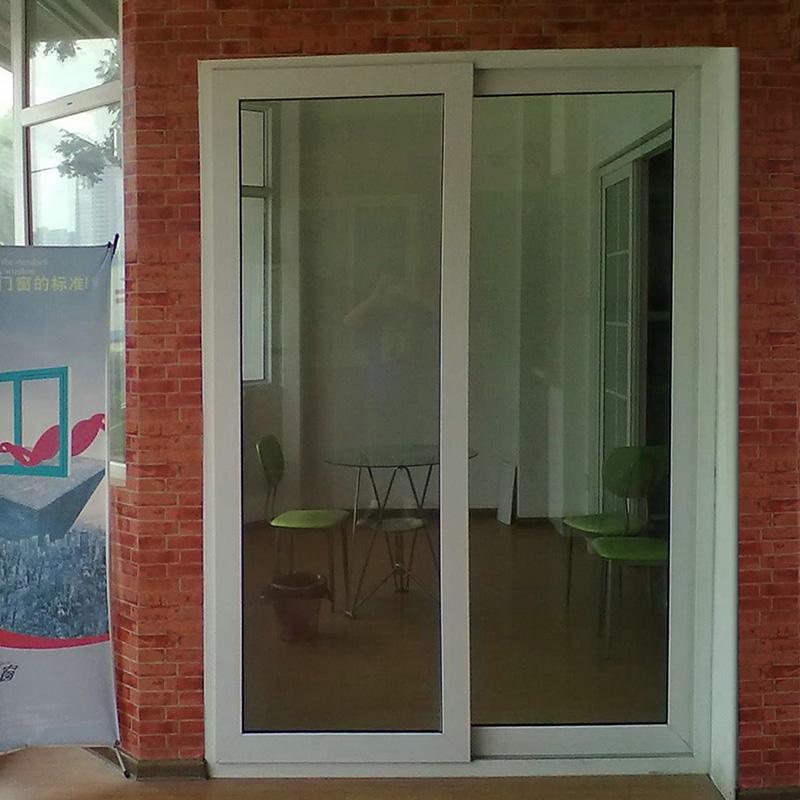 实德 塑钢门窗 upvc 塑钢推拉门 中空隔音玻璃 60系列