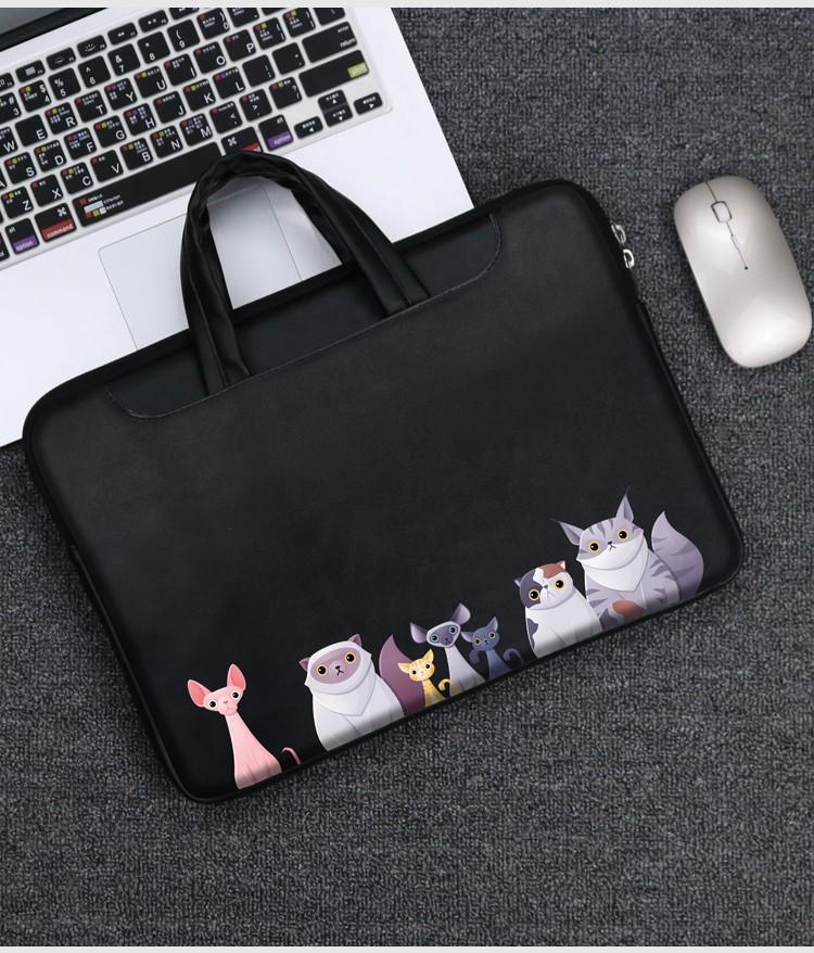 Balo laptop Samsonit 133air14pro15613 133 打印手提包 - ảnh 3