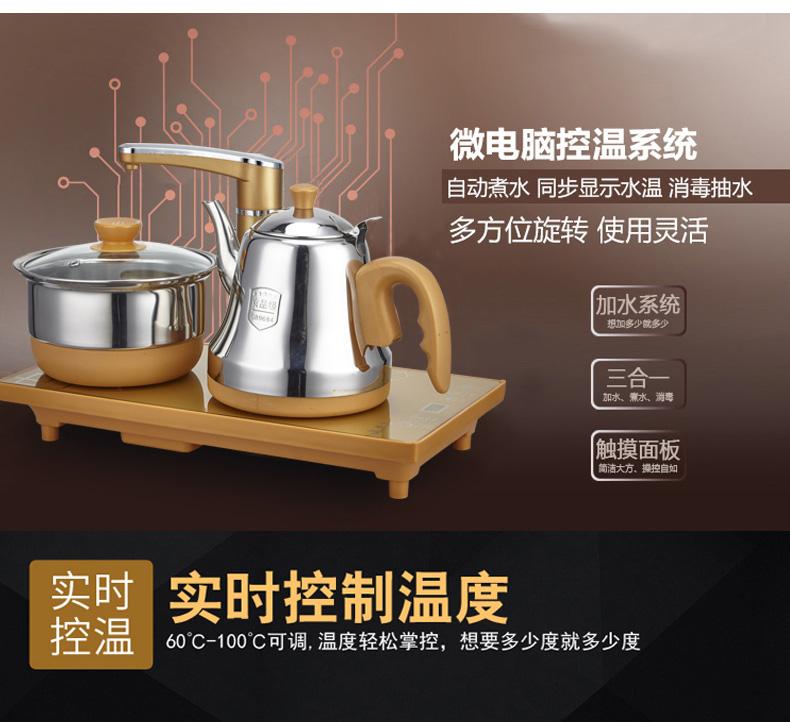 自动上水电热水壶 电茶壶 烧水抽水壶 电茶炉泡茶机