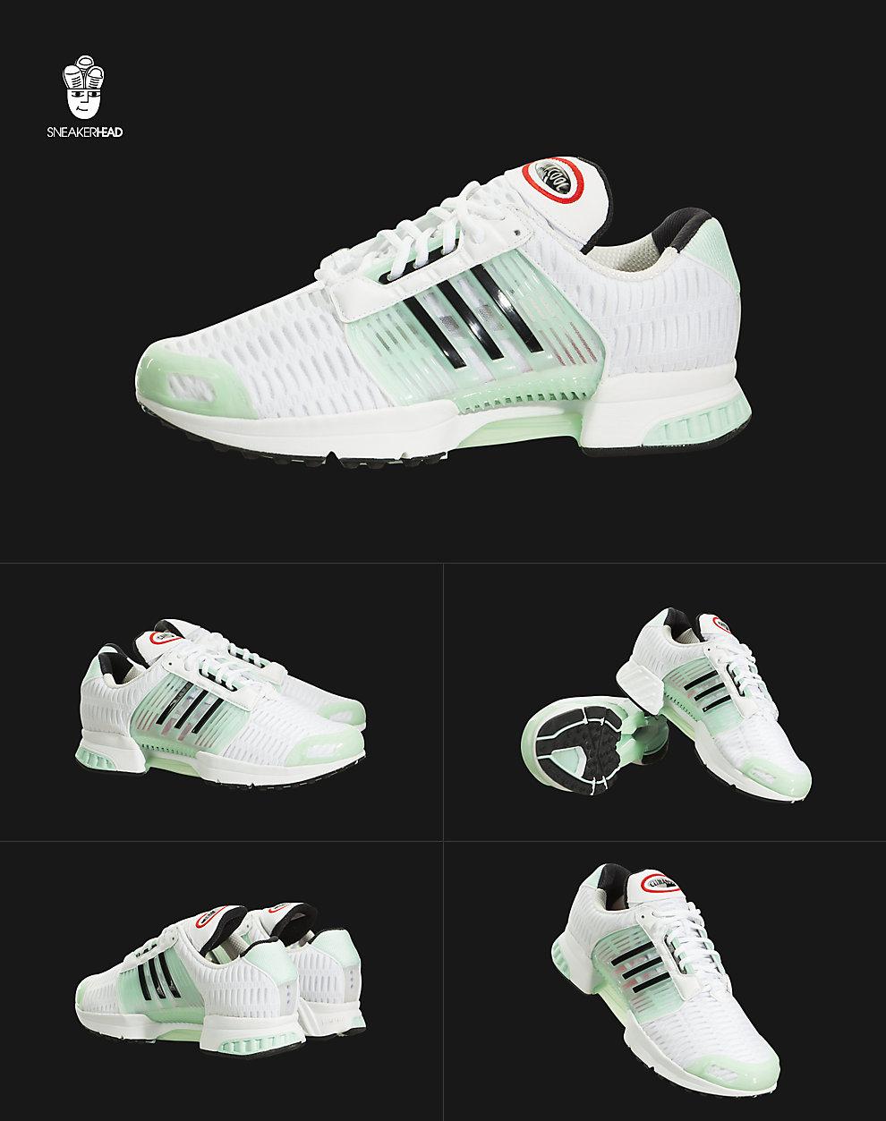 hot sale online 75b39 e160a ... ba8576 White  Ice Green-Black 白色