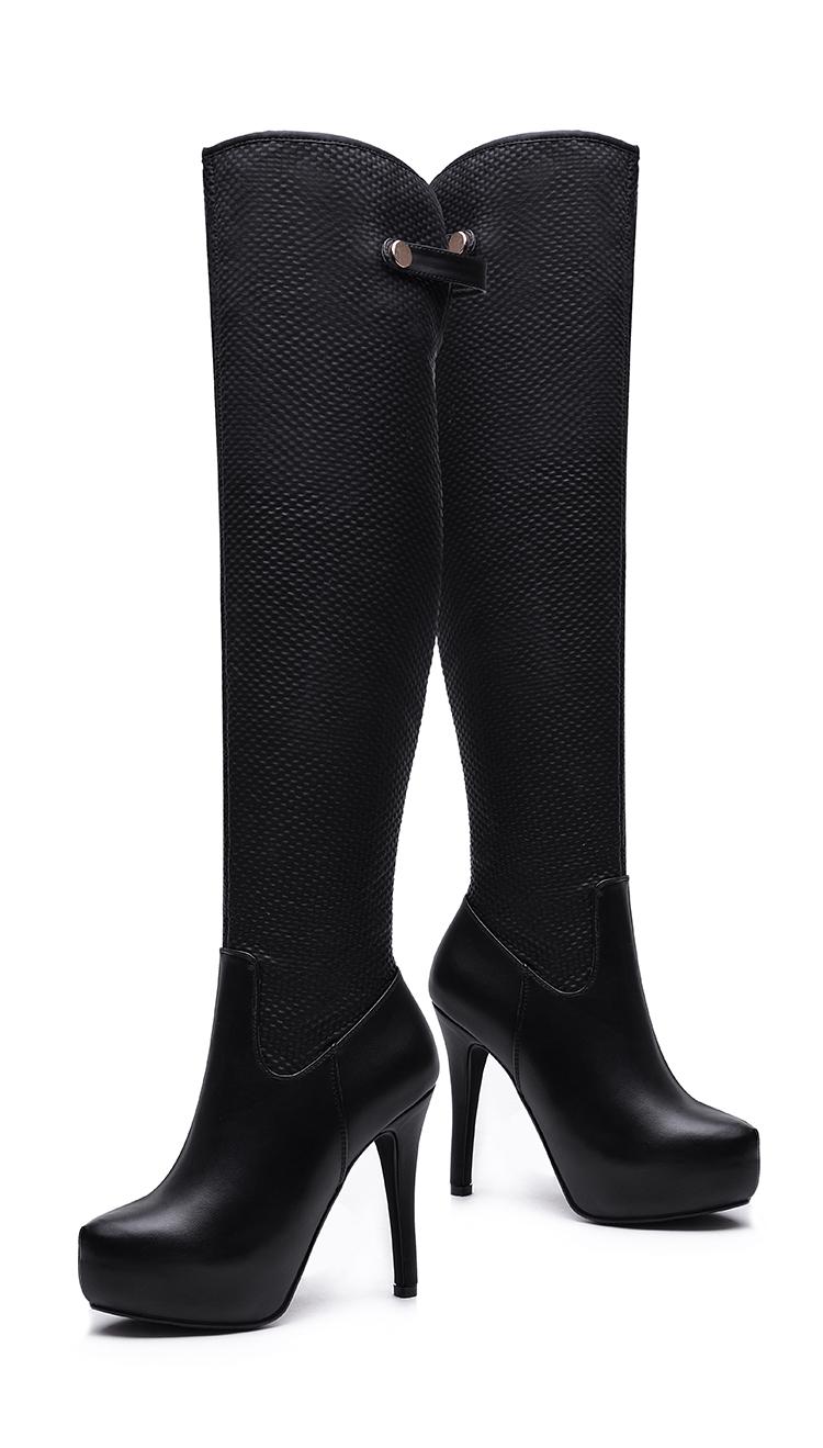 长皮靴女士_女士长靴子新款冬过膝内增高质量比较好 网上专卖