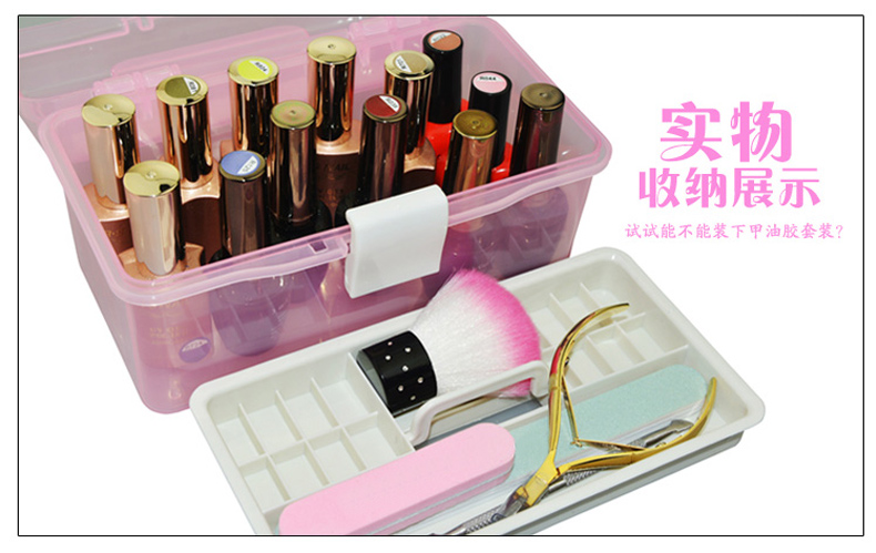 Clever Lady Nail Kit Nail Polish Gloves Small Accessories Storage ...