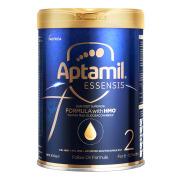 원래 수입 AptamilESSENSIS 블랙 다이아몬드 미라클 블루 주석 HMO 더 큰 유아용 분유 분유 2 단계 6-12 개월 900g