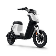 Maverick 전기 송아지 전기 자동차 UQI + 스마트 리튬 전기 페달 전기 피크 자전거 화이트 청소년 표준 버전의 청소년 버전의 새로운 국가 표준 버전