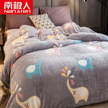 Antarctic NanJiren blanket flannel blanket nap blanket coral fleece blankets towels Sheets as 200 * 230cm