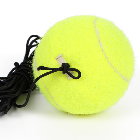 Liangjian rubber band training tennis with rope practice tennis 1 pack