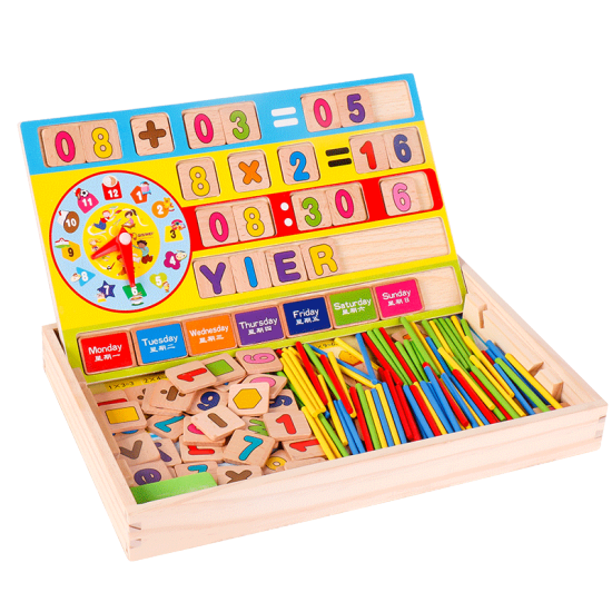Yier Children S Educational Toys 1 3 6 Years Old Montessori Teaching Aid Arithmetic Learning Box Children S