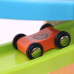 MING TA fun gliding infant child kid educational toy boy rail car wooden boxed