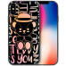 Teddy Collection Apple iPhoneX Mobile Shell Apple 10 Case Gradient Laser Clear Silicone Drop Resistant Soft Case Teddy Doll