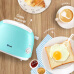 Donglim Bread Machine Toaster Home Toaster Toaster Breakfast Machine with Dust Cover and Grill DL-8111