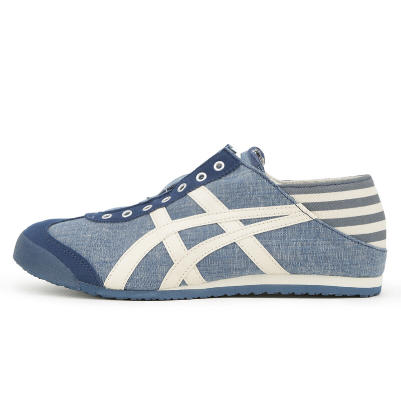 the latest 6c5ad a37b4 Ghost Tiger Onitsuka Tiger Men and Women MEXICO 66 Classic Sports Shoes  TH342N-4202 Sky Blue/White 42