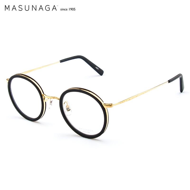 MASUNAGA Zengyong glasses men and women retro full frame glasses ...