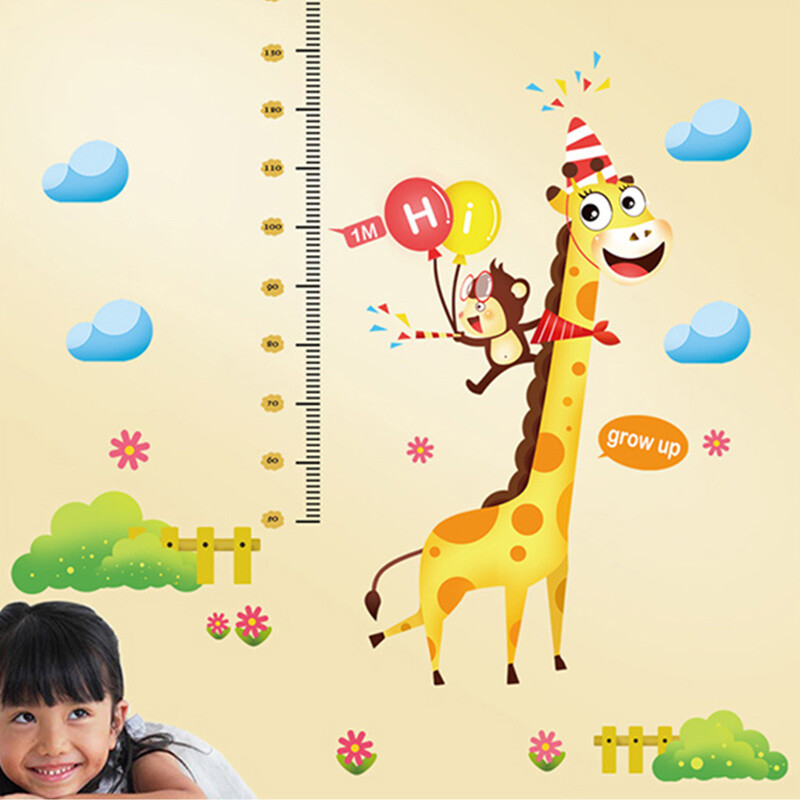 For Children With Childrens Height Stickers Wall Stickers Baby
