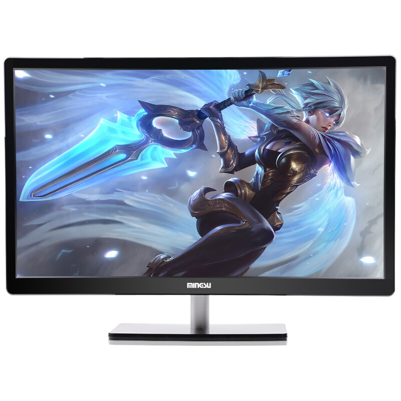 Mingsu T240 Ips 23 6 Inch 24 Hdmi Widescreen Lcd Monitor Desktop Computer Black