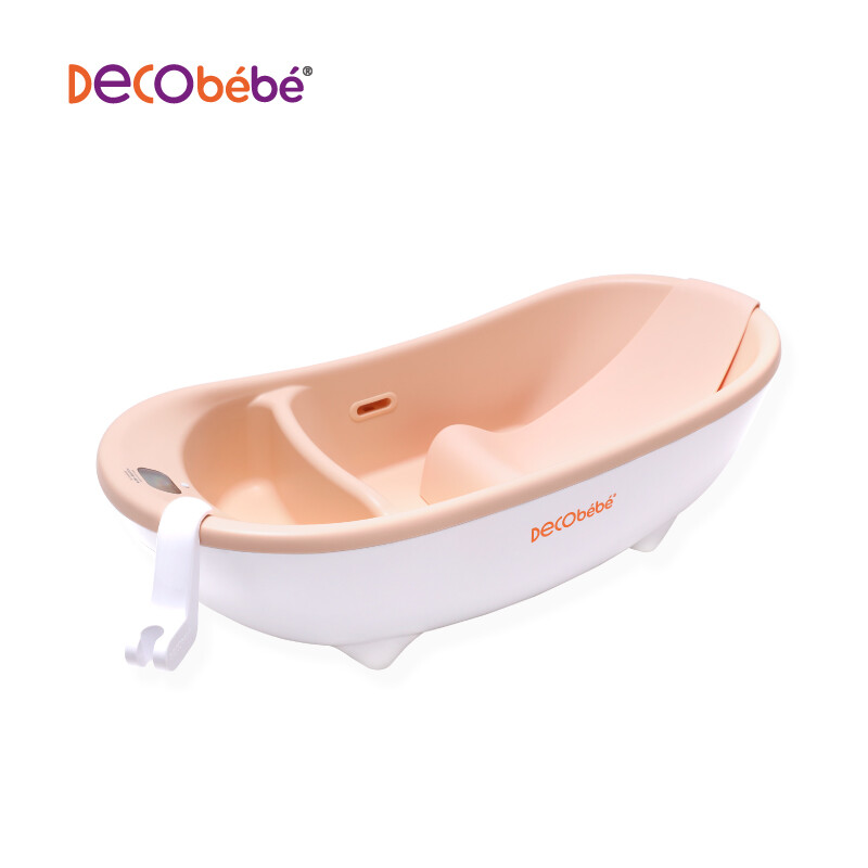 De珂 Baby Decobébé Baby Bathtub Newborn Bathtub Can sit Lay Baby ...