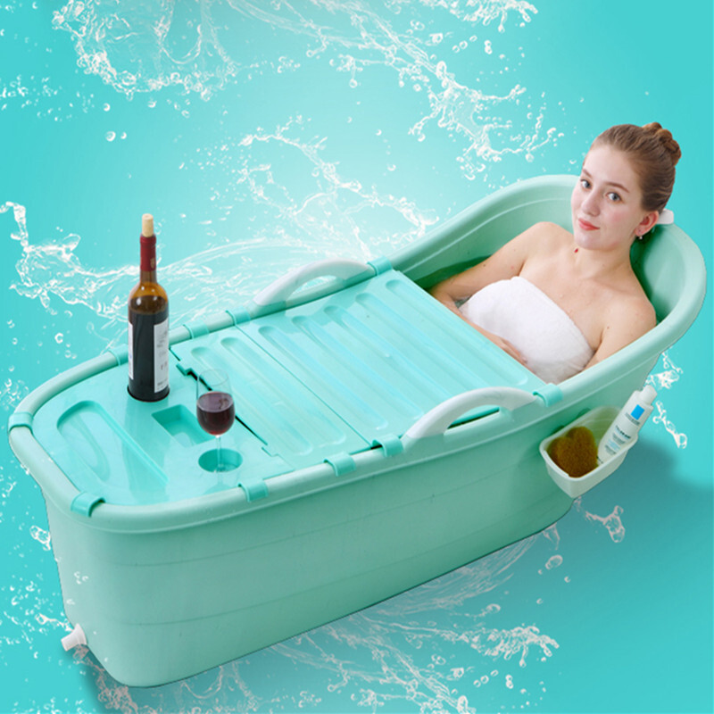Royal noble baby with cover large adult plastic bath barrel bath ...