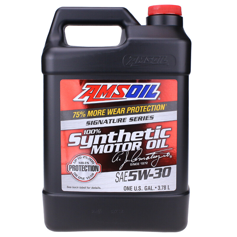 Enzo signature version of fully synthetic SN grade automotive oil ASL  applies Fu special grams guide Chevrolet Nissan 5W-30 lubricant 3 78L