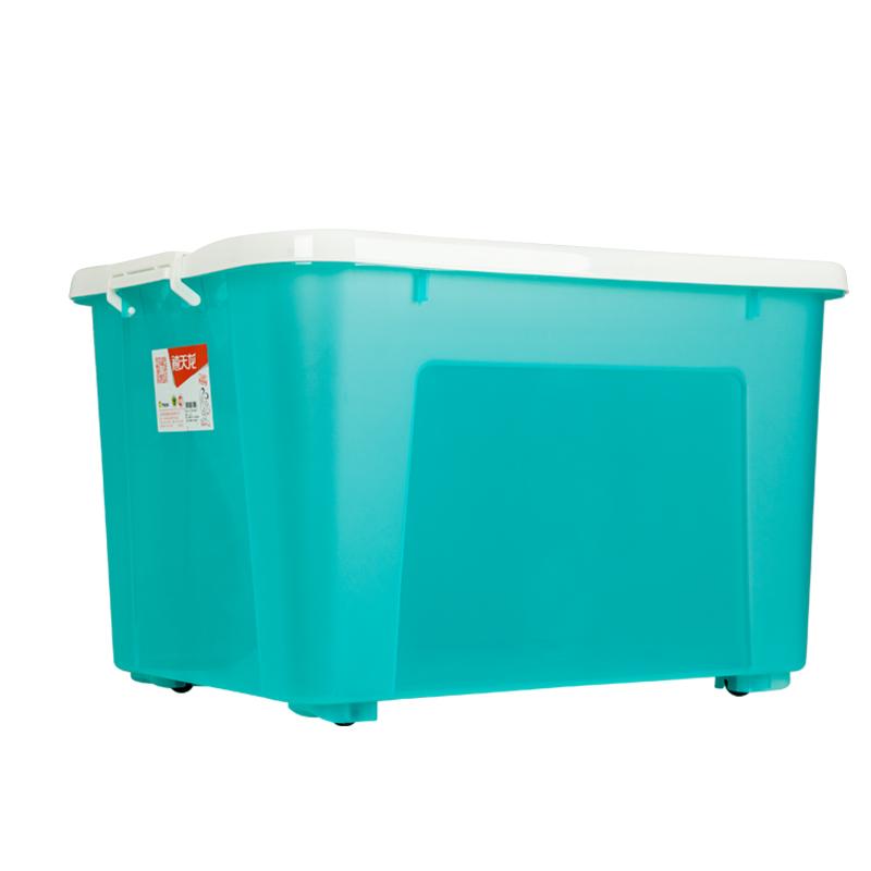 ??? Citylong plastic storage box King size pulley storage box Toy storage box 1 loaded ice blue 110L 6154  sc 1 st  OpenChinaCart & ??? Citylong plastic storage box King size pulley storage box Toy ...