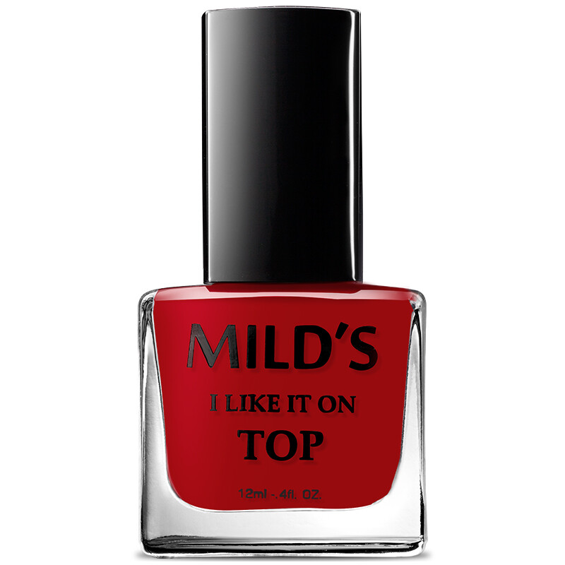MILD\'S Water-based Peelable Nail Polish Charm Red 12ml (Removable ...