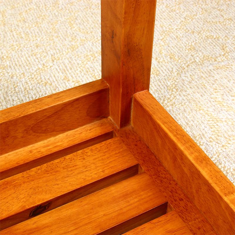 Shang Tian 42cm high oak shower stool heightened anti-slip ...